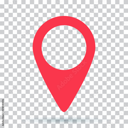 pin map navigation localization icon image Wall mural