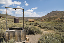 Abandoned Well And Rusty Bucke...