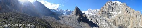 Fotografie, Tablou Панорама гор