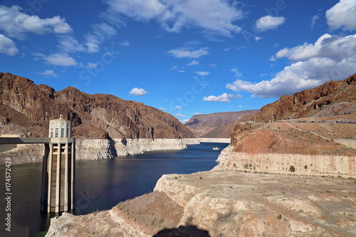 Plakat Most nad Hoover Dam