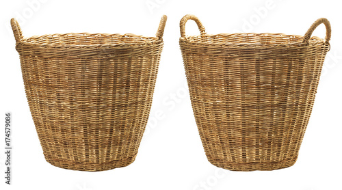 Fotografía  Rattan wicker basket