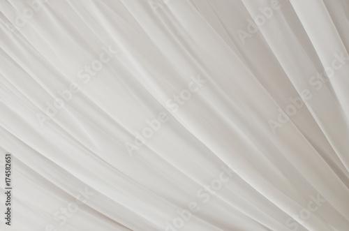 Obraz na plátně  Soft tulle abstract fabric background.