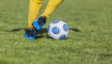 Fototapeta Sport - Dribbling