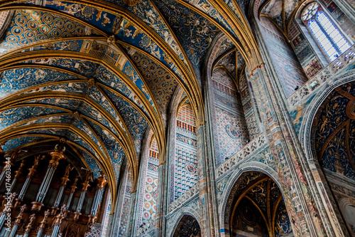 Intérieur de la cathédrale Sainte-Cécile d'Albi Wallpaper Mural