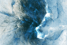 Abstract Blue Marble Texture. ...