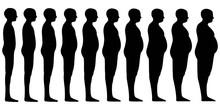 Silhouette Of A Human Men Set ...