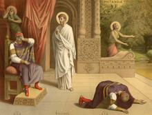 The Rebuke Of King David.