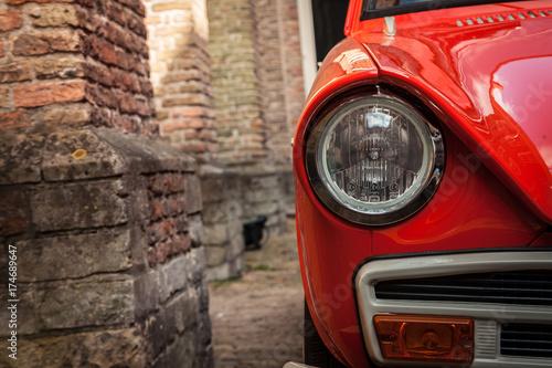 Poster Vintage voitures Vintage car
