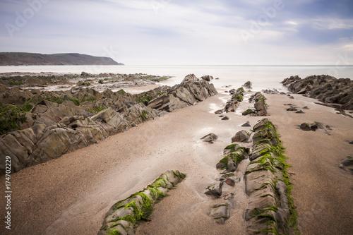 Fototapeta Widemouth Bay, Cornwall