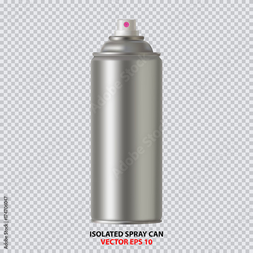Photo  White Paint Aerosol Spray Metal Bottle Can, Graffiti, Deodorant, Household Chemicals, Poison