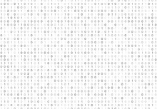 Streaming Binary Code Background Vector Illustration. Data Matrix.