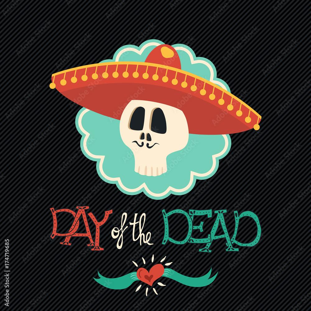 Fotografía Día De Los Muertos Mexicana Mariachi Sombrero Azúcar