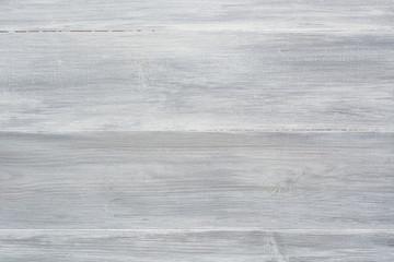 White grey wooden background, chalk paint