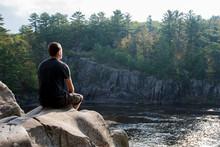 Morning Meditation On The River