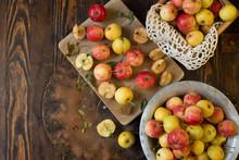 Wild Bright Apples