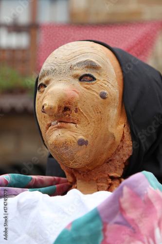 Fotografie, Obraz  bruja máscara halloween  IMG_8344-f17