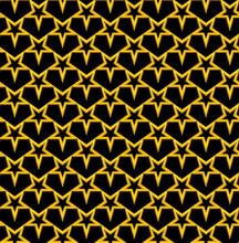 Modern Stars Seamless Pattern