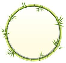 Curved Bamboo Frame Design