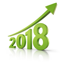 2018 Growth Forecast Concept
