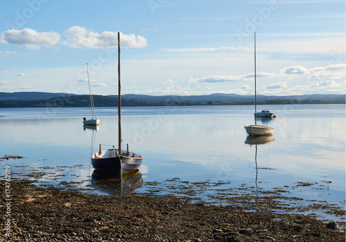Photo Findhorn Bay.