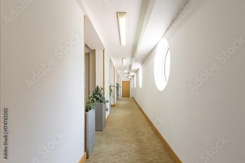 Hotel corridor Poster