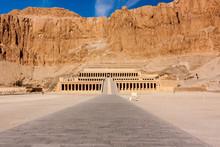 Hatshepsut's Temple In Luxor