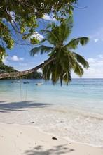Isolated Bay Near Baie Lazare, Mahe Island, Seychelles, Indian Ocean, Africa