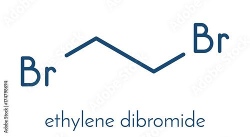 Ethylene Dibromide EDB 1 2 Dibromoethane Fumigant Molecule
