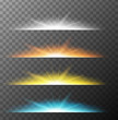 Different beam lights in four colors