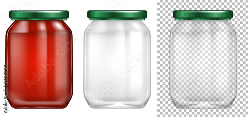 Fotografija Packaging design for glass jar
