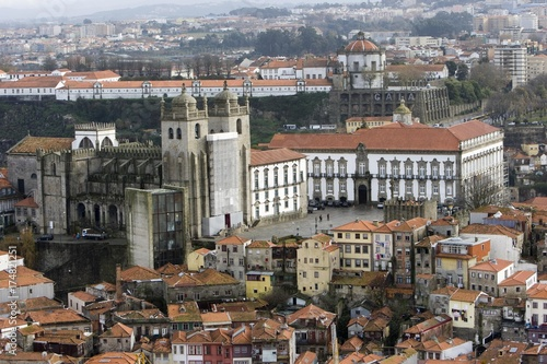 Staande foto Afrika Historic centre of Porto with the Cathedral, Porto, UNESCO World Heritage Site, Portugal, Europe