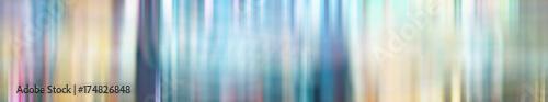Poster de jardin Metal Blurred gradient background long horizontal