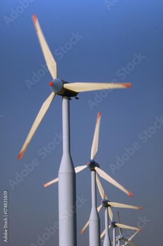 Zdjęcie XXL turbiny wiatrowe