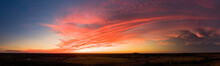 Panorama Of A Sunset In Missouri