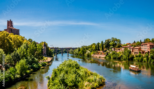 Photo Panorama sur le Tarn et Albi