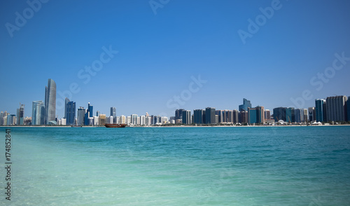 Canvas Prints Abu Dhabi a city on the banks