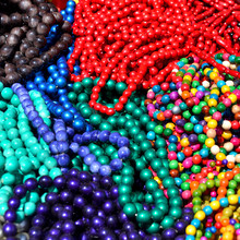 Beads Colorful Beautiful Textu...