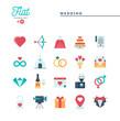 Humanitarian, peace, justice, human rights and more, flat icons set, vector illustration