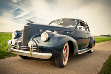 Oldtimer Cadillac Lasalle Coupe 1940, Frontansicht