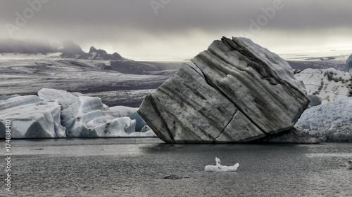 Zdjęcie XXL Wyspa lodowa