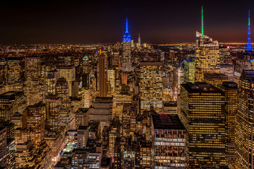 ニューヨーク・マンハッタンの夕景