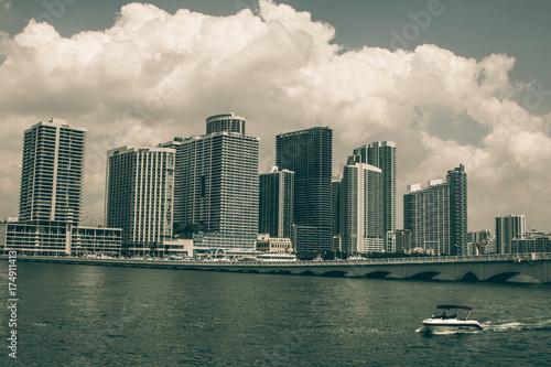 Fototapeta Miami Skyline