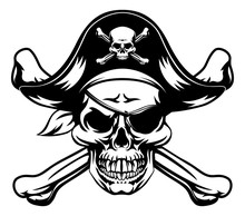 Pirate Skull And Crossbones
