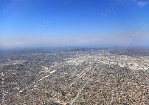 Obraz na dibondzie (fotoboard) Widok z lotu ptaka miasta Los Angeles