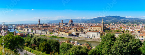 In de dag Florence Florence panorama city skyline Tuscany Italy