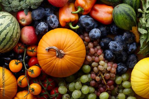 Foto Autumn harvest concept