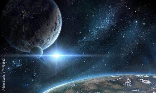 Fototapeta Планеты obraz