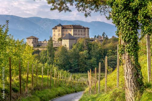 Fotografie, Obraz  Castle Thun, Trentino Alto-Adige