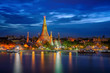 Wat Arun and Arun pagoda