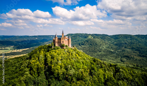 Canvas Prints Castle Hohenzollern Castle, Germany.